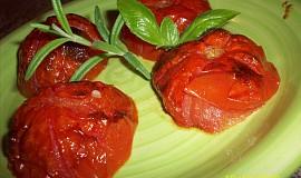 Rajčata z grilu - trouby