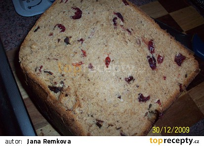 Sladký snídaňový chleba