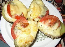 Zapečené brambory s Fit Line