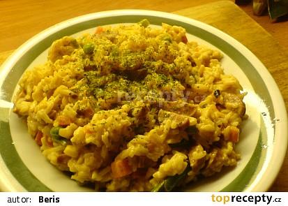 verze s rýží