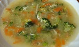 Brokolicová polévka - barevná