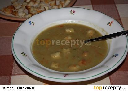 Hrašková polévka -rychlá