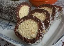 Nepečená kokosová roládka