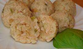 Šunkové knedlíčky  jednoduché - zavářka do polévky