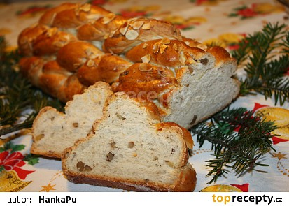 Vánočka z domácí pekárny