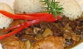 Vepřové na houbách