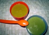 Zeleninové příkrmy pro nejmenší