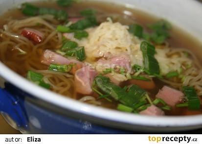 Čínská polévka po Česku