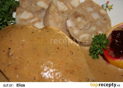 Kuře na smetaně (svíčková)