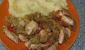 Kuřecí s řapíkatým celerem