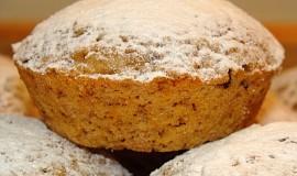 Pomerančové muffiny s ovesnými vločkami