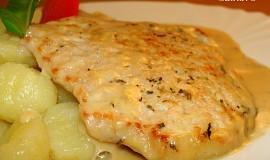 Provensálské kotlety v sýrové omáčce