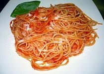 Shaterovo špagety s rajčaty
