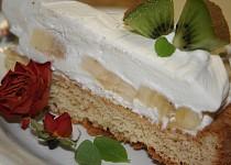 Smetanový dort nepečený, po mamince