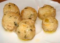 Sýrové knedlíčky rychlé - zavářka do polévky