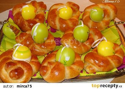 Velikonoční věnečky na vajíčka