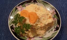 Česnekovo-mrkvová pomazánka