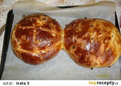 Mazanec z domácí pekárny od Ivety