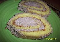 Roláda s pikaovým krémem