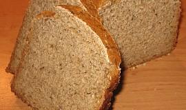 Vločkový slunečnicový kváskový chléb