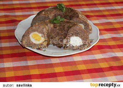 Bábovka z mletého masa s tymiánem