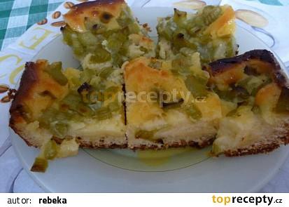 Božský reveňový koláč( jako dortík)