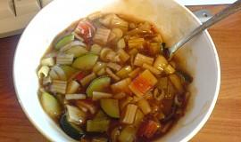 Čínská sladkokyselá polévka