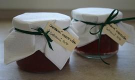 Jahodová marmeláda s karamelem a vanilkou
