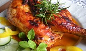 Kuře pečené v máslové marinádě