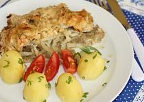 Rybí filé s celerem a jablky