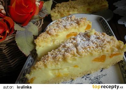 Smetanový sypaný koláč