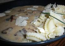 Těstoviny houbaře