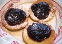 Bramborové placičky s povidly nebo marmeládou