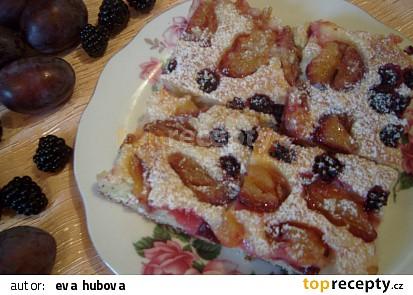Fofr koláč s ovocem