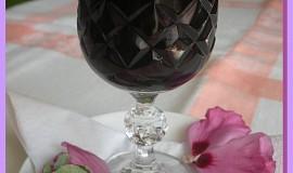 Kávový likér z bezinek
