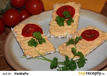 Pikantní mrkvová pomazánka 2