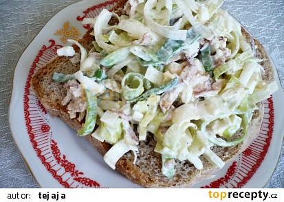 Pórková pomazánka-salát