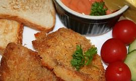 Rybí filé s rajskou majonézou