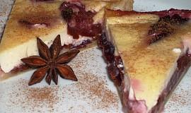 Švestkový koláč z listového těsta
