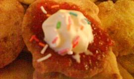 Bramborové placičky s marmeládou