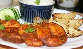 Masové bramboráčky