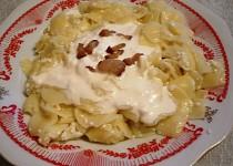Nudle s tvarohem - z maďarské kuchyně