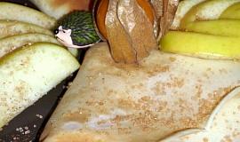 Palačinky z jablkového těsta