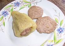 Placičky z mletého masa pečené v mikrovlnce - i pro dietáře