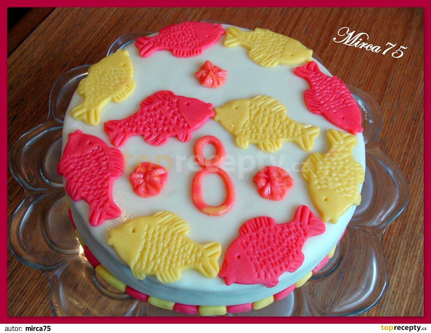dort k narozeninám recept Potahovaný dort k narozeninám recept   TopRecepty.cz dort k narozeninám recept