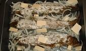 Pstruh pečený v troubě