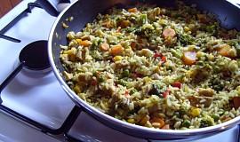 Rýže s hlívou