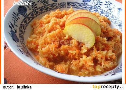 Salát z mrkve a jablek