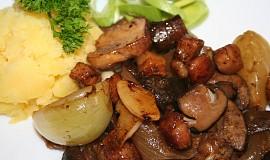 Slaninové houbičky, olíznou se hubičky