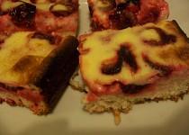 Švestkový koláč s polevou